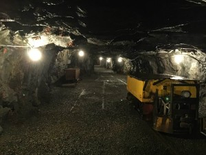 Inside of the No. 9 Mine