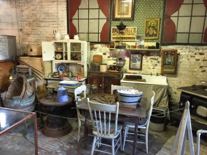No 9 Museum recreated 1800s miner kitchen
