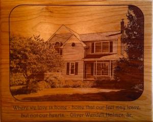 Bishop Road House Plaque
