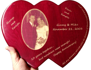 Mike And Ginny's Personalized Plaque