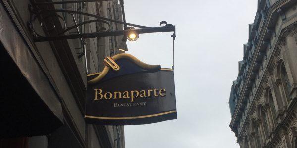 Restaurant Bonaparte in Montreal, Quebec, Canada
