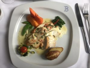 Restaurant Bonaparte Chicken in a Sage Cream Sauce